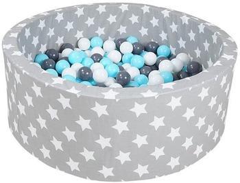 Knorrtoys Soft Grey White Stars