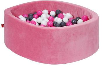Knorrtoys Bällebad Soft Pink inkl. 300 Bälle creme/grey/rose
