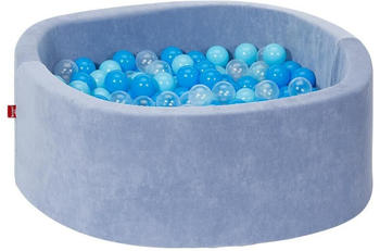 Knorrtoys Bällebad Soft Blue inkl. 300 Bälle soft blue/blue/transparent