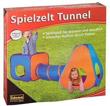 Idena Spielzelt mit Tunnel (40118)
