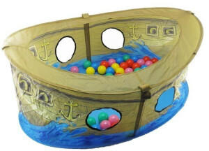 Bieco Piratenboot mit 50 Bällen