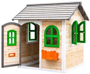 Belladoor Kinderspielhaus Melina natur/weiß/grau/orange/grün