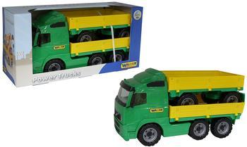 polesie-power-truck-pritsche-mit-anhaenger-im-schaukarton