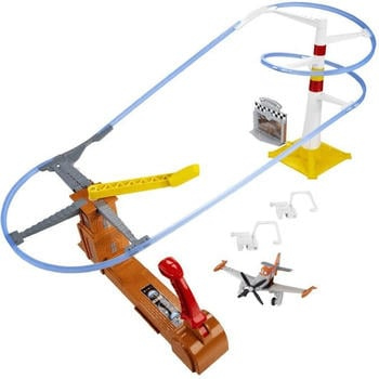 Mattel Disney Planes - Action Shifters - Flight to the Finish Speedway