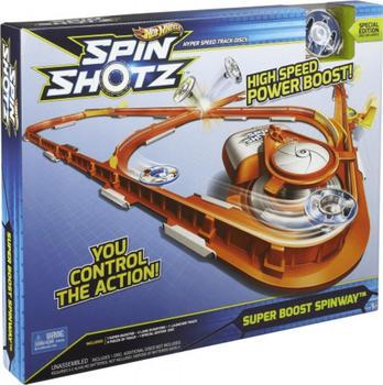 Mattel Hot Wheels - Spinshotz Super Boost Spinway