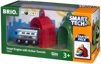 Brio Smart Tech - Zug mit Actiontunnel (33834)