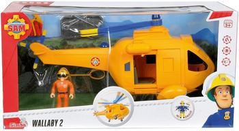 Simba Feuerwehrmann Sam - Hubschrauber Wallaby II mit Figur