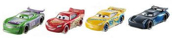 Mattel Disney Cars Fireball Beach Rennfahrzeuge 4er-Pack (FTX79)