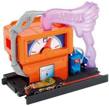 Mattel Hot Wheels City Spielset: Express-Tankstelle Set (FRH30)