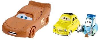 Mattel Lightning McQueen as Chester Whipplefilter, Luigi & Guido