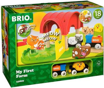 Brio Meine erster BRIO Bahn Bauernhof mit Sound (33826)