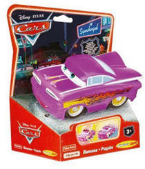 Mattel Disney Cars - Ramone lila
