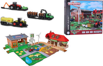 Simba Creatix Big Farm + 5 vehicles (212050026)