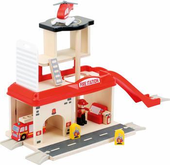 Legler Small Foot Feuerwehrwache mit Zubehör