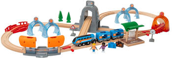 Brio World - Smart Tech Sound Action Tunnel Reisezug Set (33972)