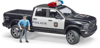 Bruder RAM 2500 Polizei Pickup mit Polizist (02505)