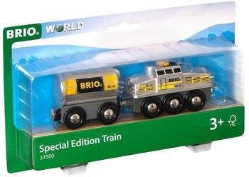 Brio World - Silberner Frachtzug (33500)