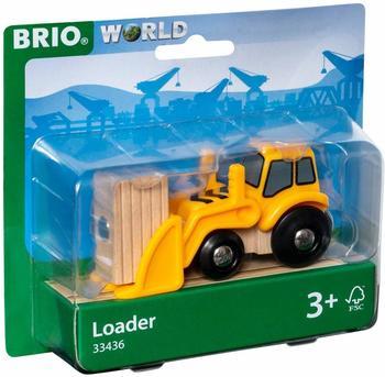 BRIO Brio Frontlader mit Magnetladung (33436)