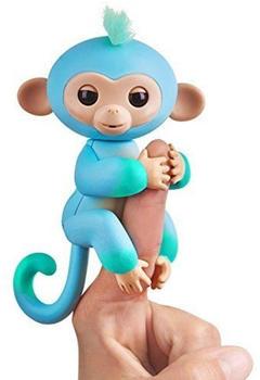 WowWee Fingerlings Baby Äffchen - Charlie blau/grün