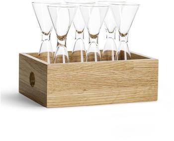 Sagaform Schnapsglas mit Box 6er Set