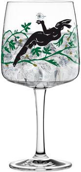 Ritzenhoff Gin Ginglas Karin Rytter Mysterious Hare Gin Glas Schnapsglas Kristallglas 700 ml 3450002