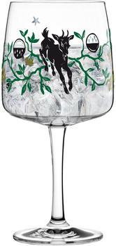 Ritzenhoff Gin Ginglas Karin Rytter Faunus Gin Glas Schnapsglas Kristallglas 700 ml 3450004