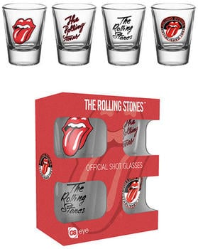 GB Eye Schnapsgläser 4er Set The Rolling Stones 'Mix'