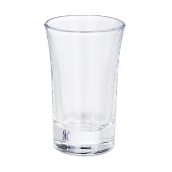 Relaxdays 24 x Schnapsglas 4 cl, Tequilagläser, Pinnchen Transparent