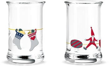 Holmegaard Weihnachts-Schnapsglas 2er Pack 2020