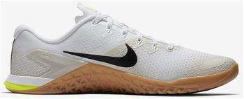 Nike Metcon 4 white/light bone/gum medium brown/black
