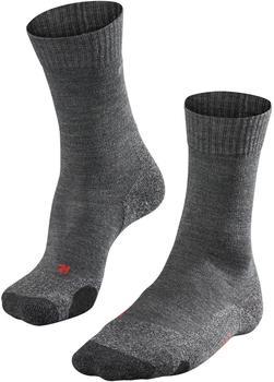 Falke TK 2 Damen Trekking Socken asphalt mel.