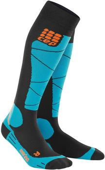 CEP Progressive+ Ski Merino Socks black/azure