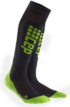 CEP Ski Ultralight Socks black/green