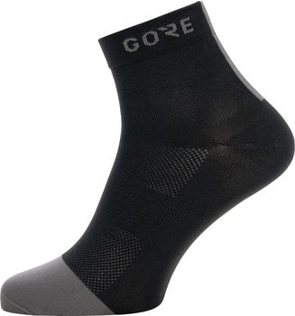 Gore M Light Mid Socks black/graphite grey