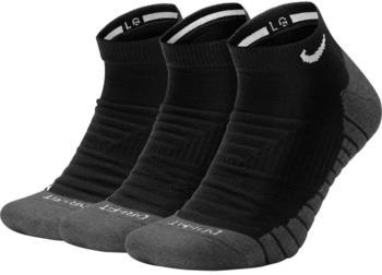 Nike 3-Pack Training No-Show Socks Nike Everyday Max Cushioned (SX6964) black/anthracite/white