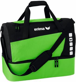 Erima Club 5 Sporttasche mit Bodenfach S grün/schwarz