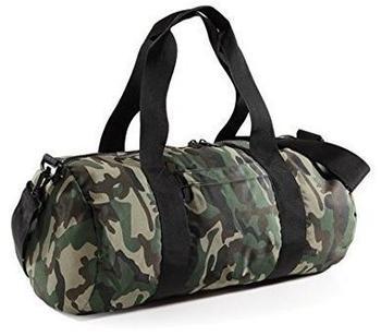 BagBase Barrel Bag jungle camo