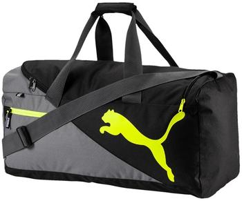 Puma Foundation Sportsbag M quiet shade/safety yellow (73395)