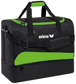 Erima Sporttasche mit Bodenfach green gecko/schwarz
