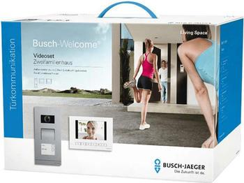 Busch-Jaeger 2-Familienhaus-Set Video edelstahl