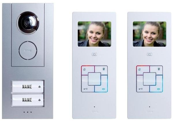M-E Trading VD6320 Vistus 2 Familien Video-Türsprechanlage