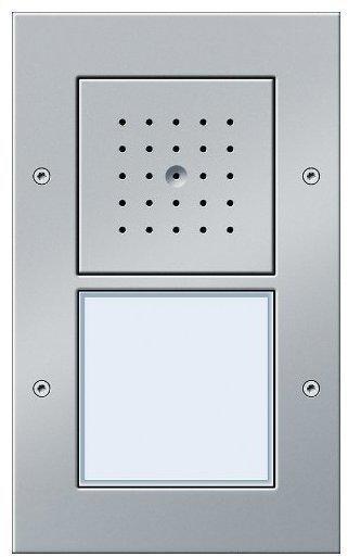 Gira Türstation AP 1-fach aluminium (126665)