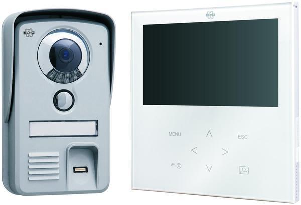 Elro Video-Türsprechanlage mit Fingerabdruckscanner VD71F