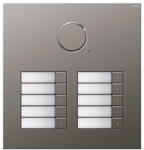Gira Türstation Edelstahl 10fach Audio (2510/20)