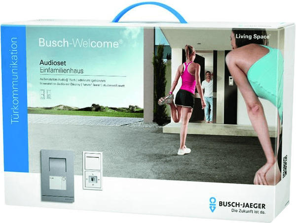 Busch-Jaeger 1-Familienhaus-Set Audio edelstahl future