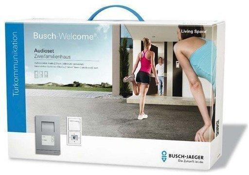 Busch-Jaeger 2-Familienhaus-Set Audio edelstahl future