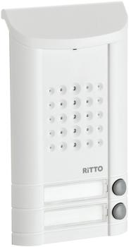 Ritto Minivox Türstation 2 Tasten weiß (1271042)