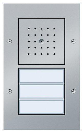 Gira Türstation AP 3fach, Aluminium (126765)