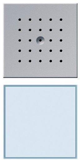 Gira TX 44 UP-Türstation 1fach, Aluminium (126065)