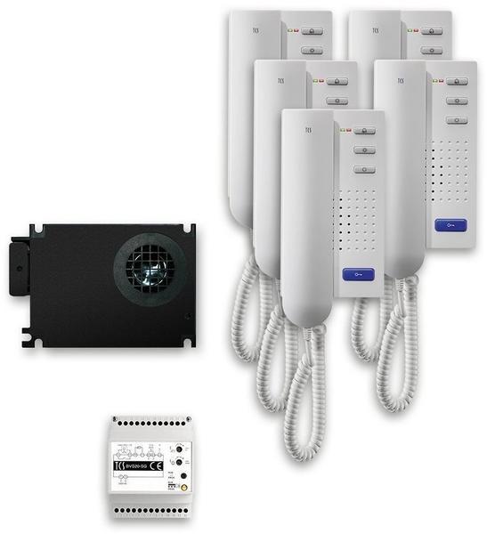TCS tcu:pack für Türsprechanlage 5 Wohneinheiten (PPI05)